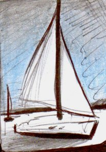 sailboat sketches | jennifer barrile
